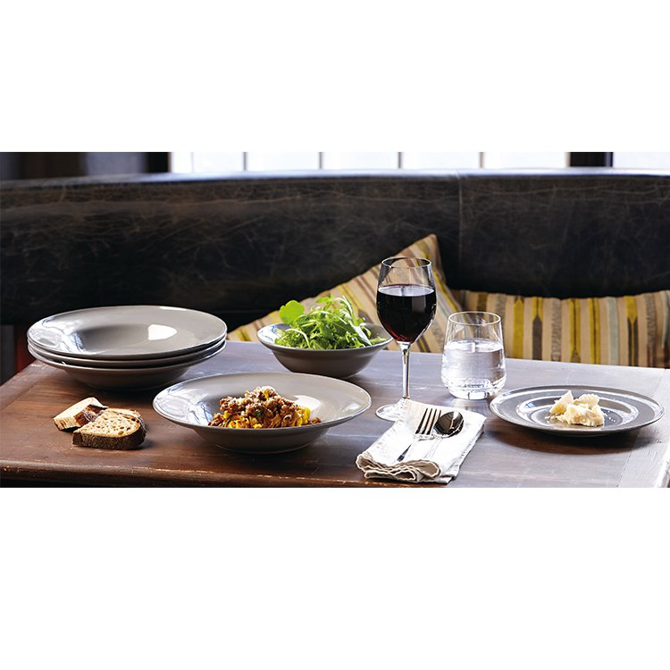 Royal Doulton Gordon Ramsay Union Street Cafe 16pc Dinner Set Grey