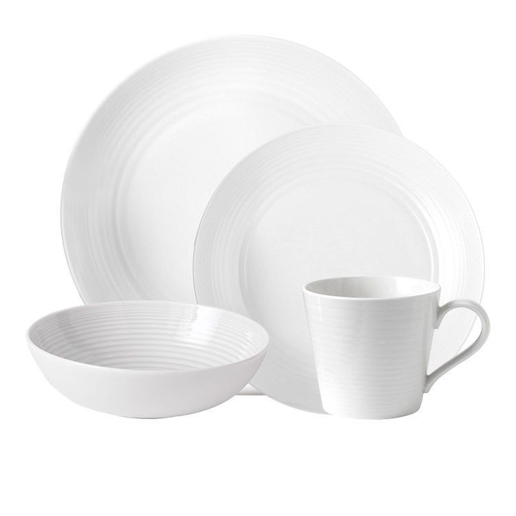 Royal Doulton Gordon Ramsay Maze 16pc Dinner Set White