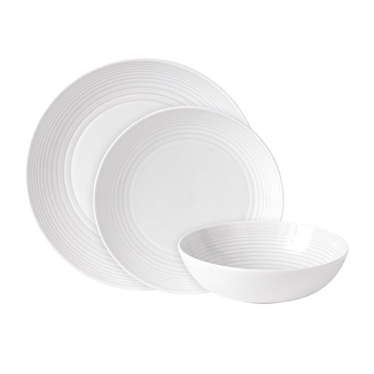 Royal Doulton Gordon Ramsay Maze 12pc Dinner Set White