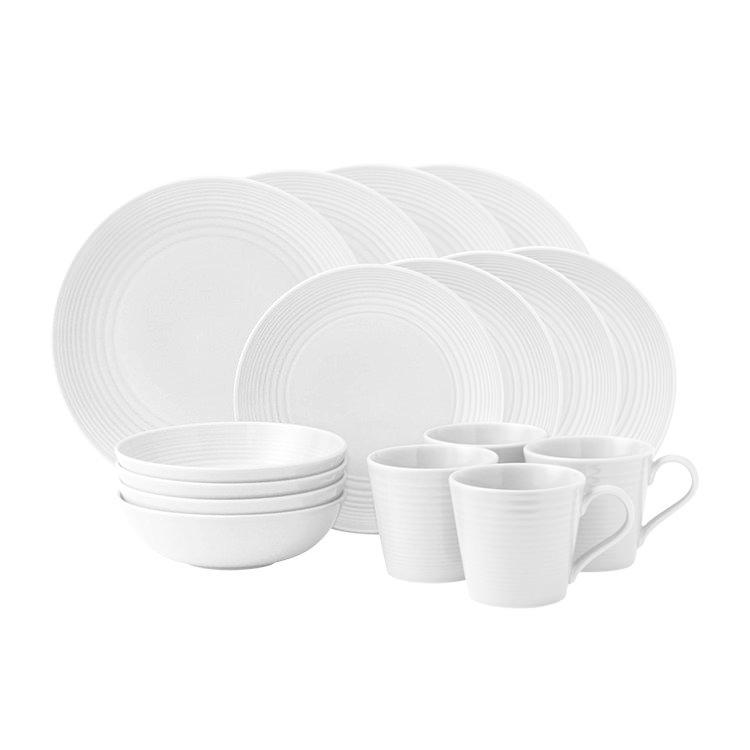 Royal Doulton Gordon Ramsay Maze White Dinner Set 16pc $101.65  sc 1 st  Kitchen Warehouse & Royal Doulton Gordon Ramsay Maze White Dinner Set 16pc - Fast Shipping