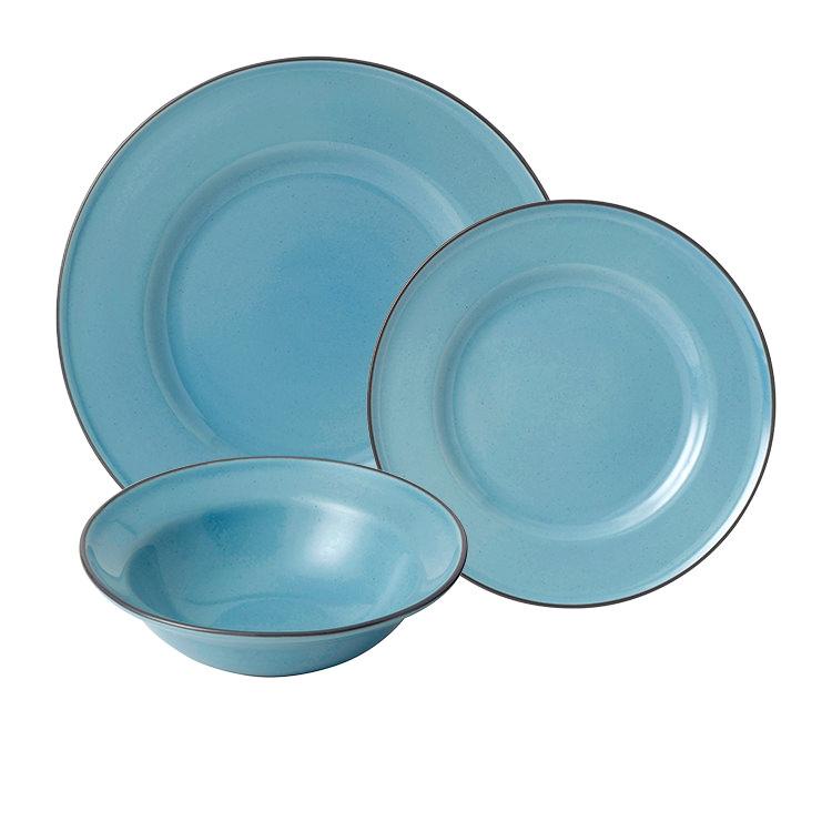 Royal Doulton Gordon Ramsay Union Street Cafe Dinner Set 12pc Blue