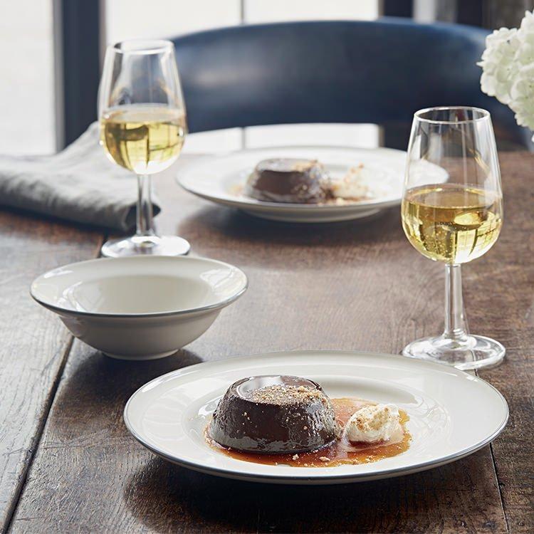 Royal Doulton Gordon Ramsay Union Street Cafe Dinner Set 12pc Cream