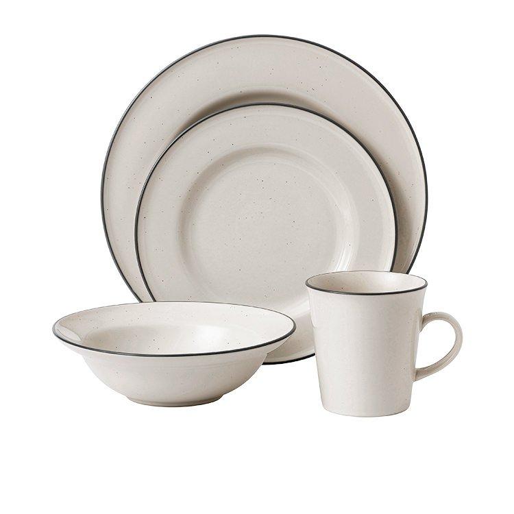 Royal Doulton Gordon Ramsay Union Street Cafe Dinner Set 16pc Cream