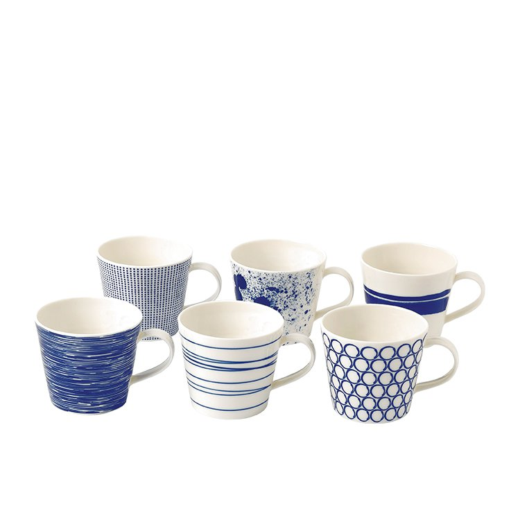 Royal Doulton Pacific Mug 400ml Set of 6