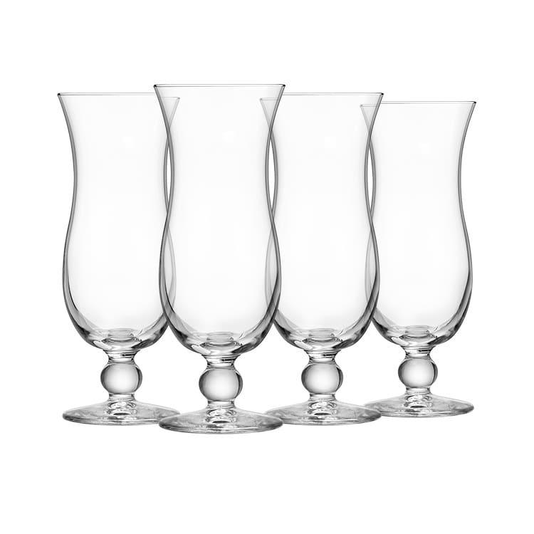 Royal Leerdam Blue Hawaii Glass 440ml Set of 4