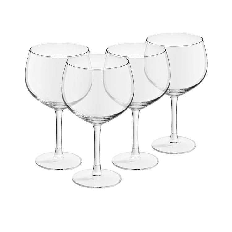 Royal Leerdam 4pc Cocktail Glasses Gin & Tonic Glass Set 650ml