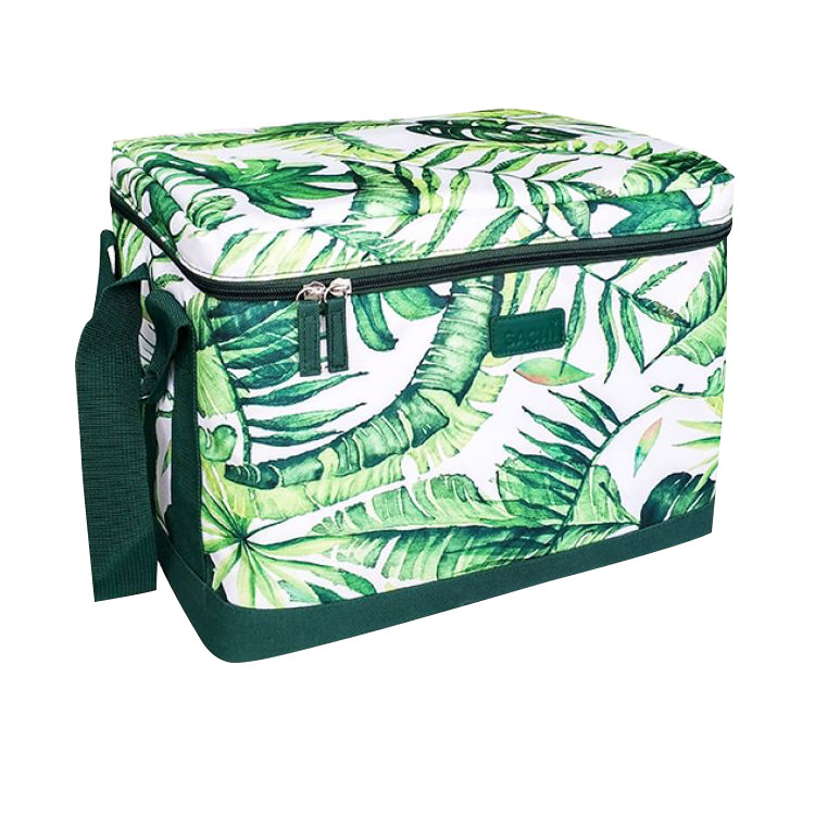Sachi Insulated Cooler Cube 23L Jungle Leaf