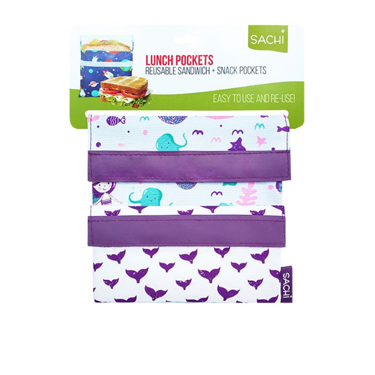 Sachi Lunch Pockets Set 2pc Mermaids