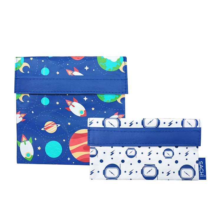 Sachi Lunch Pockets Set of 2 Outer Space