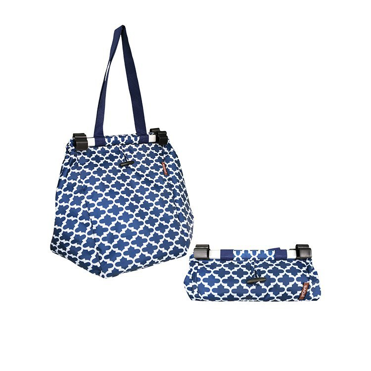 Sachi Shopping Trolley Bag Moroccan Navy
