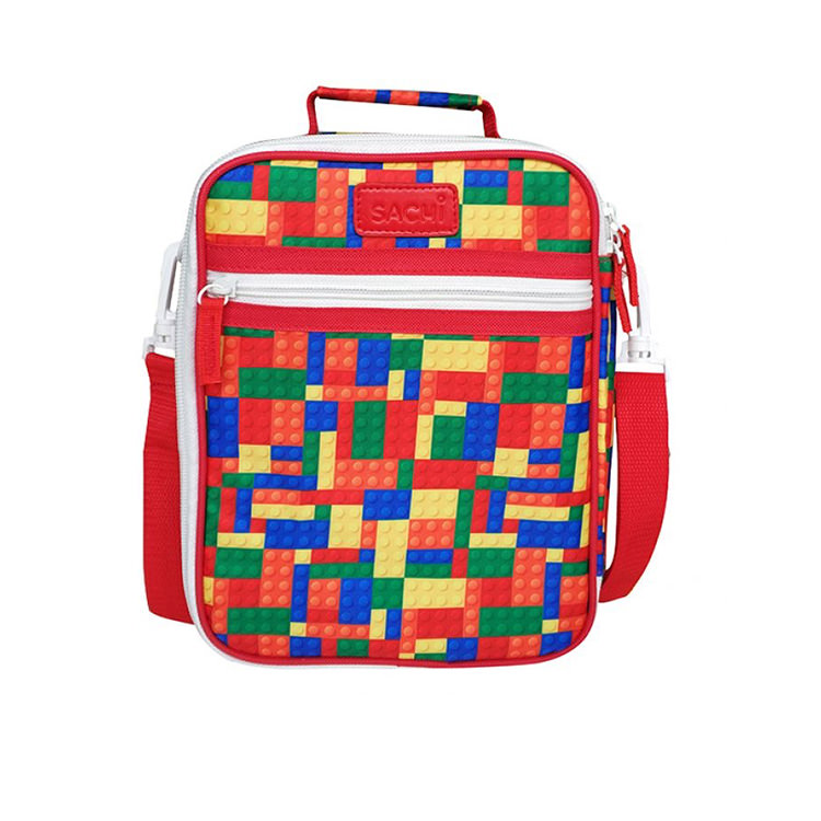 Sachi Style 225 Insulated Junior Lunch Tote Bricks