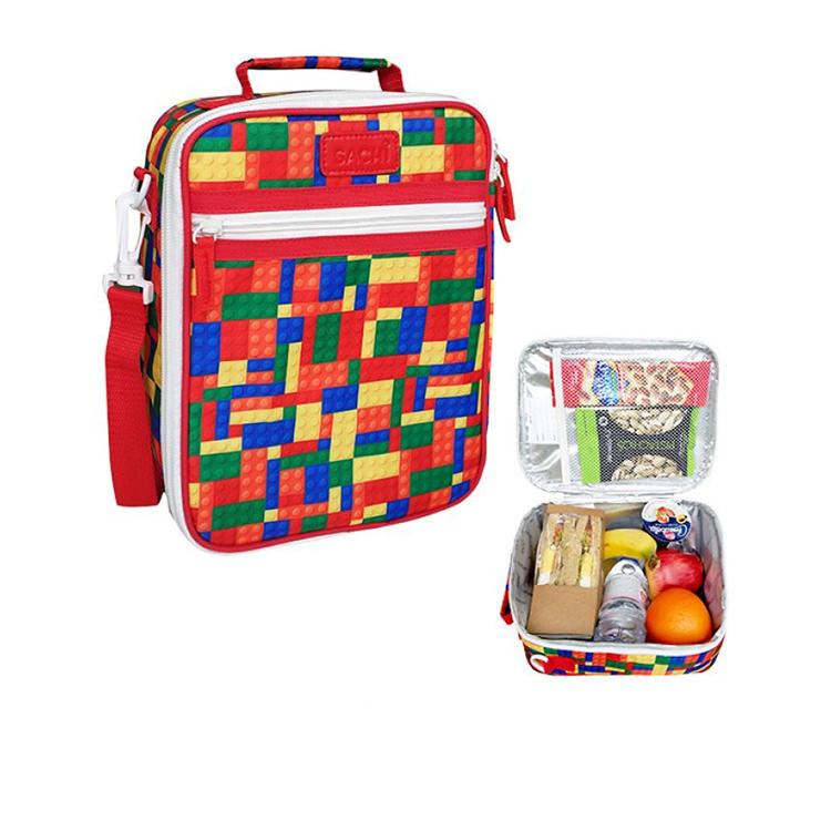 Sachi Style 225 Insulated Junior Lunch Tote Bricks