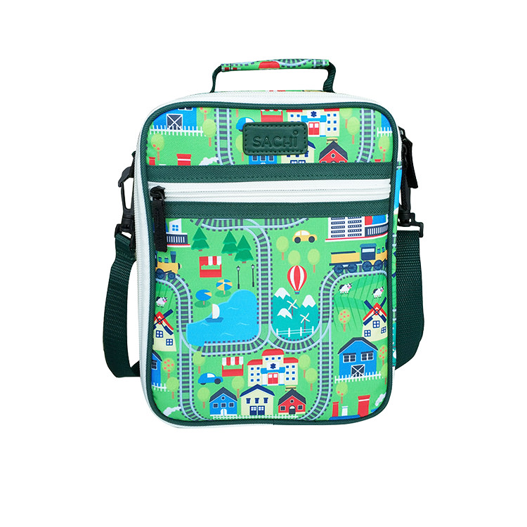 Sachi Style 225 Insulated Junior Lunch Tote City