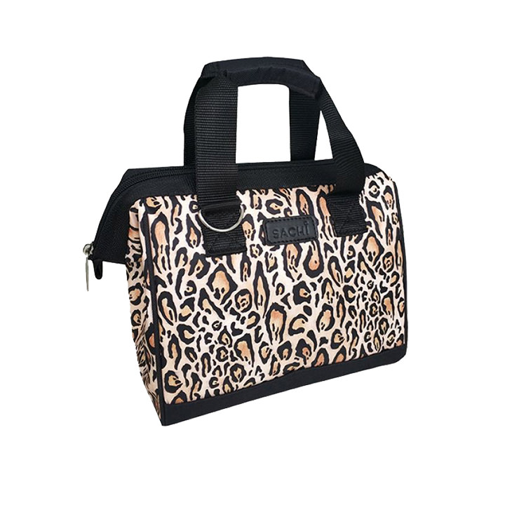 Sachi Style 34 Insulated Lunch Bag Leopard Print