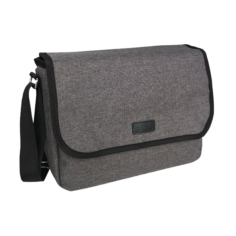 Sachi Style 49 Insulated Lunch Satchel Charcoal