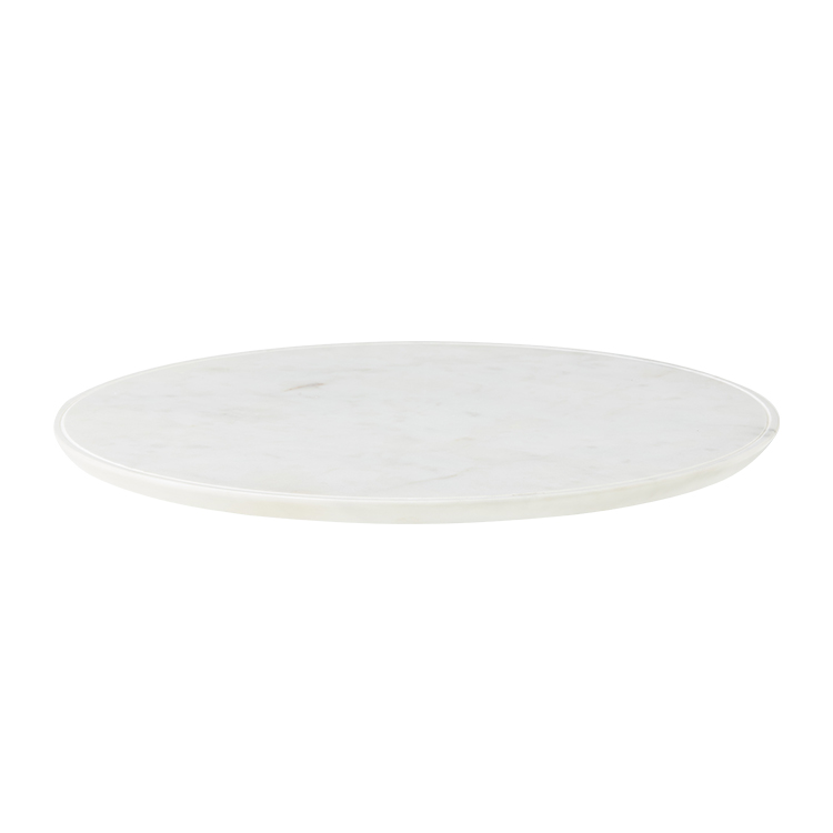 Salisbury & Co Carra Marble Lazy Susan 40x4.5cm White