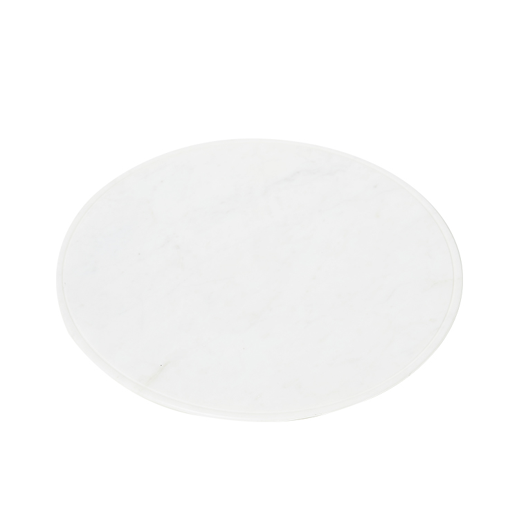 Salisbury & Co Carra Marble Round Serving Board 30cm White
