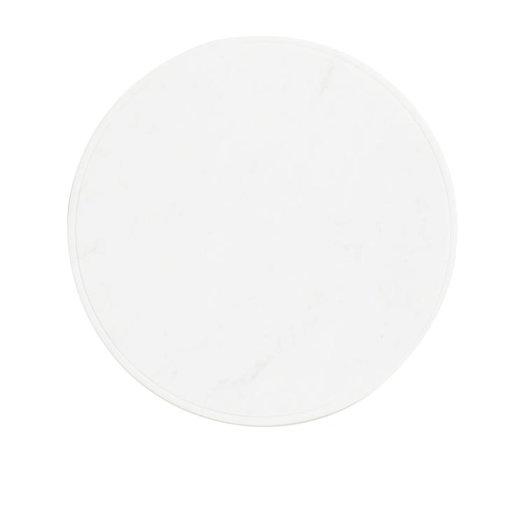 Salisbury & Co Carra Marble Round Serving Board 30cm White