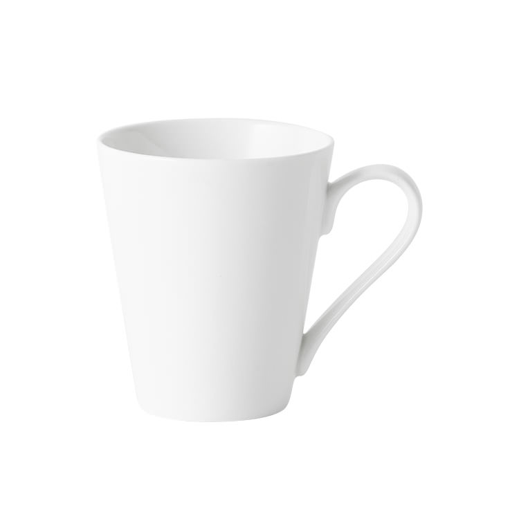 Salisbury & Co Classic 4pc Conical Mug Set 320ml White image #2