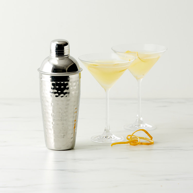 Salisbury & Co Hemingway Hammered Cocktail Shaker 750ml