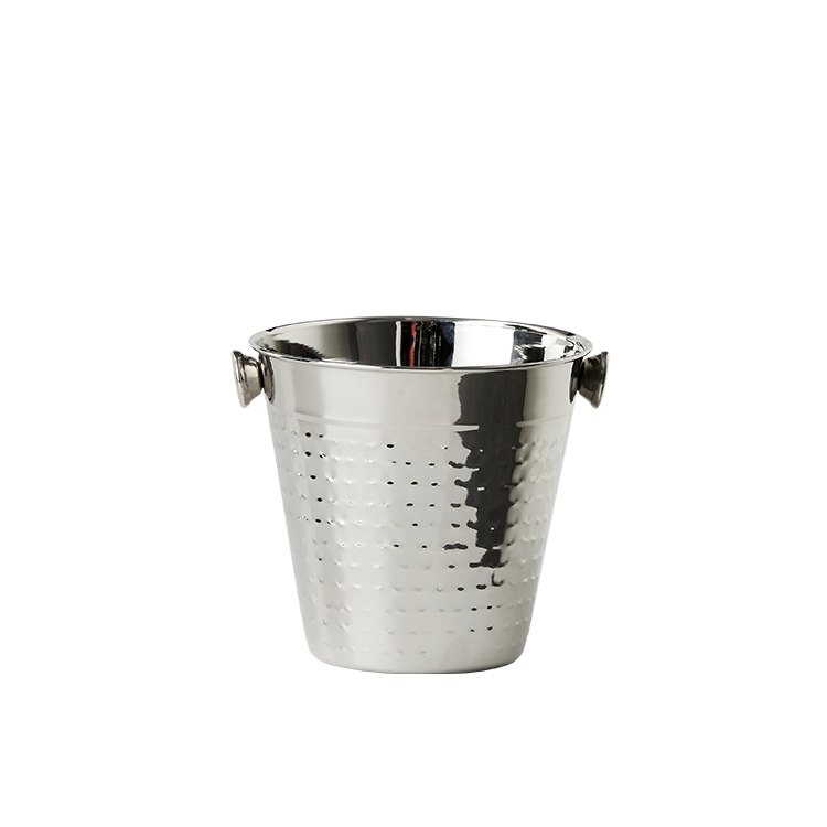 Salisbury & Co Hemingway Hammered Ice Bucket 14x14cm
