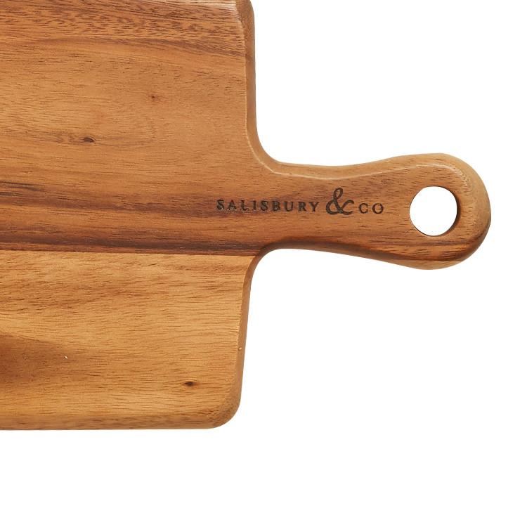 Salisbury & Co Hudson Rectangular Acacia Paddle Board 40x20cm