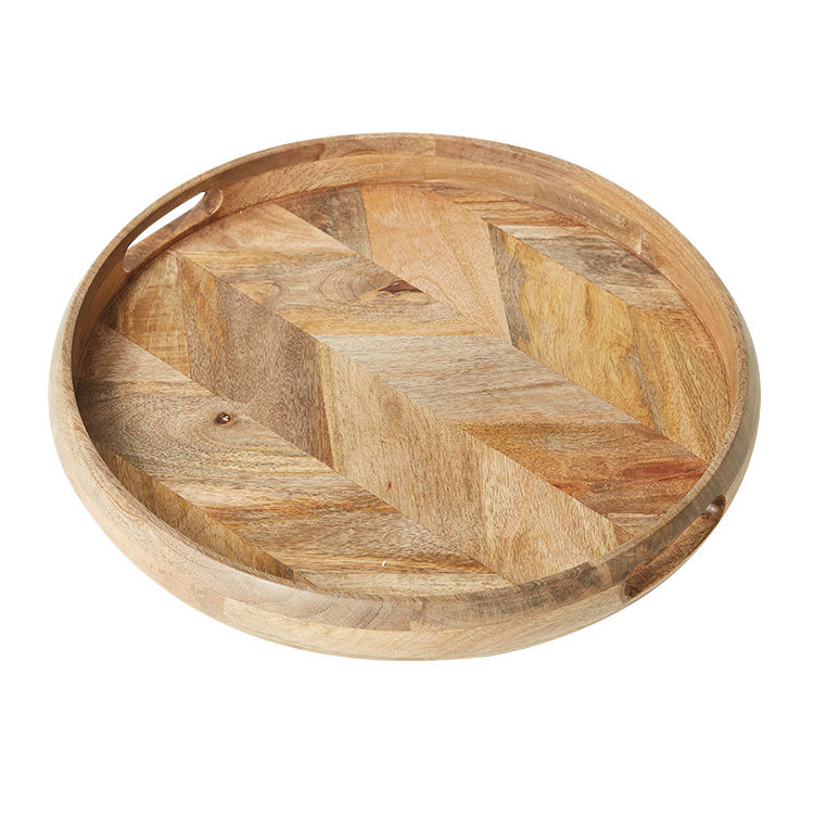 Salisbury & Co Parquetry Serving Tray 50x6cm