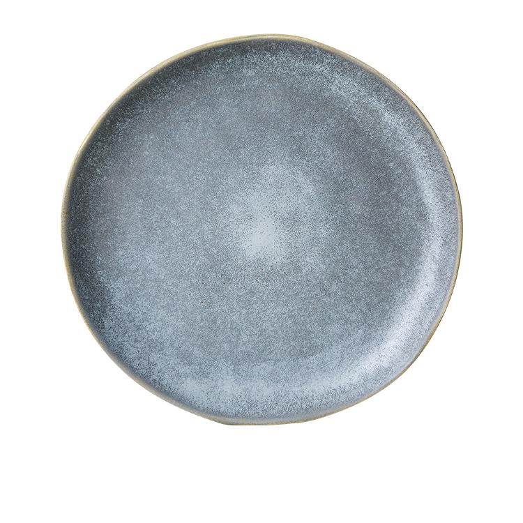 Salisbury & Co Siena Dinner Plate 27.5cm Charcoal