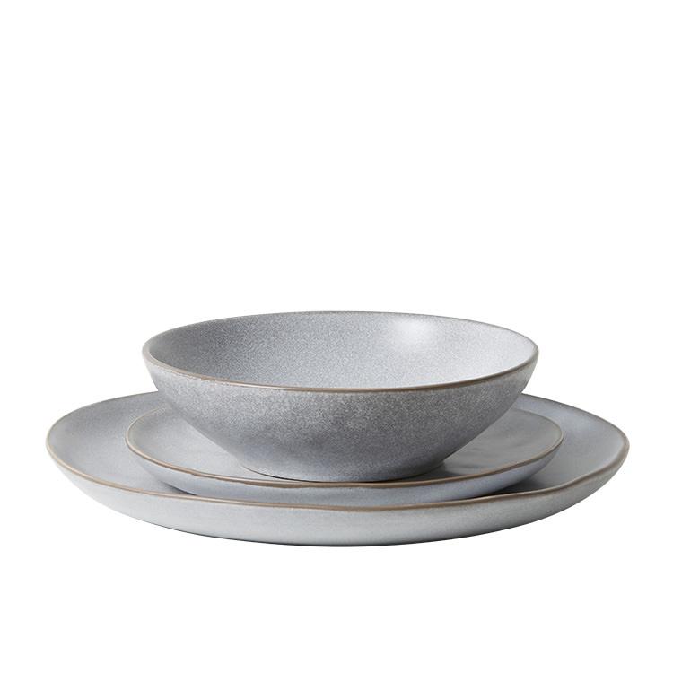 Salisbury & Co Siena Side Plate 17.5cm Light Grey