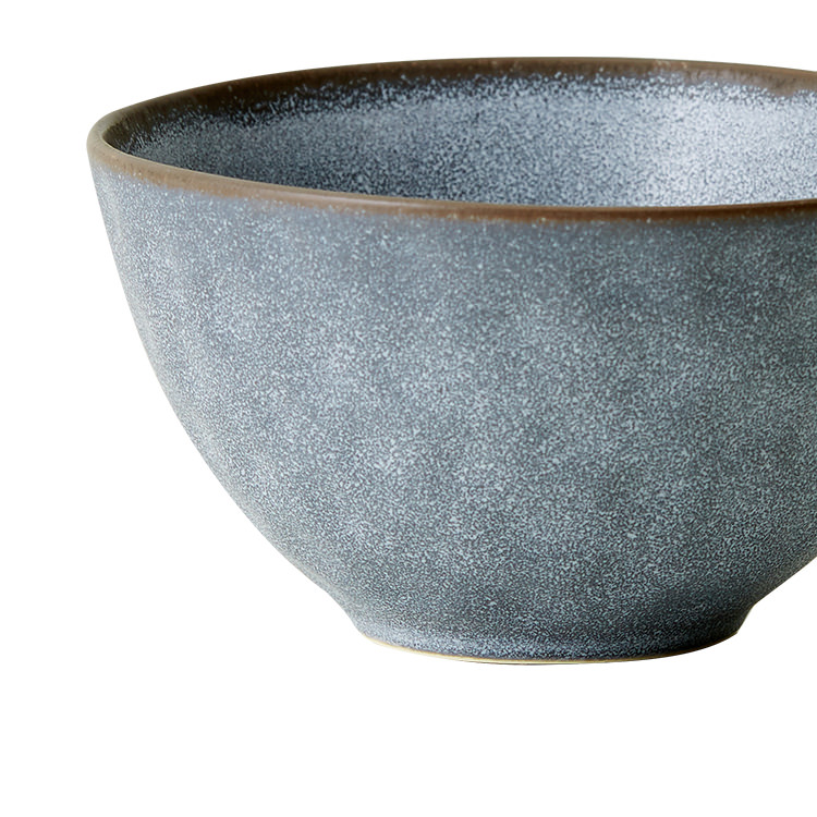 Salisbury & Co Siena Dip Bowl 15cm Charcoal