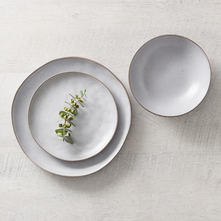 Salisbury & Co Siena Dinner Set 12pc Light Grey image #5