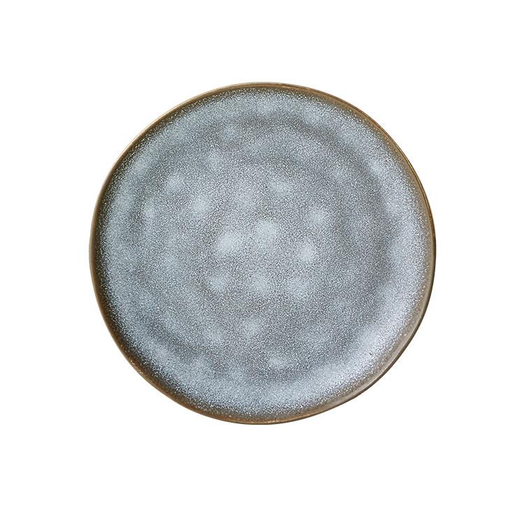 Salisbury & Co Siena Side Plate 17cm Charcoal