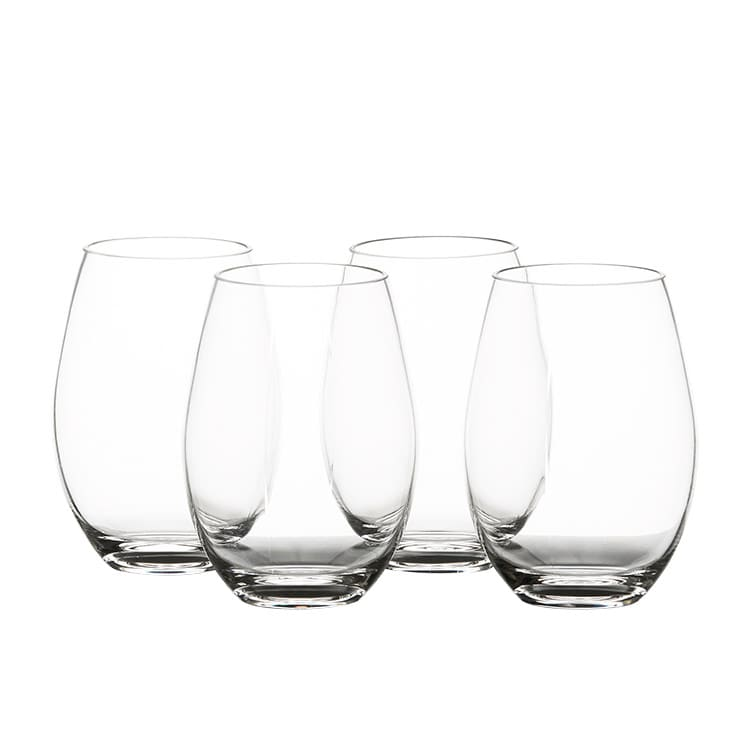 Salisbury & Co Unbreakable Stemless Wine Glass 590ml Set of 4