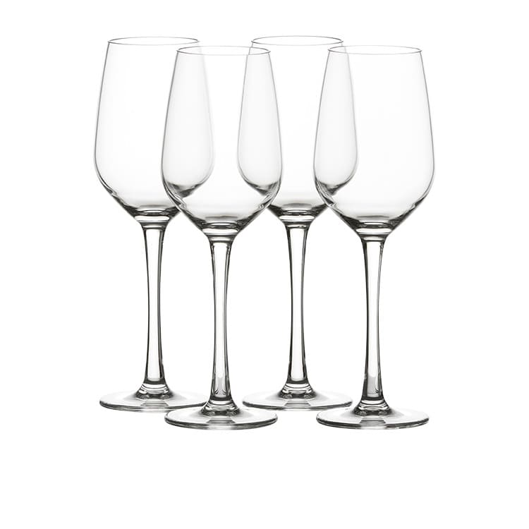 Salisbury & Co Unbreakable 4pc White Wine Glass Set 384ml