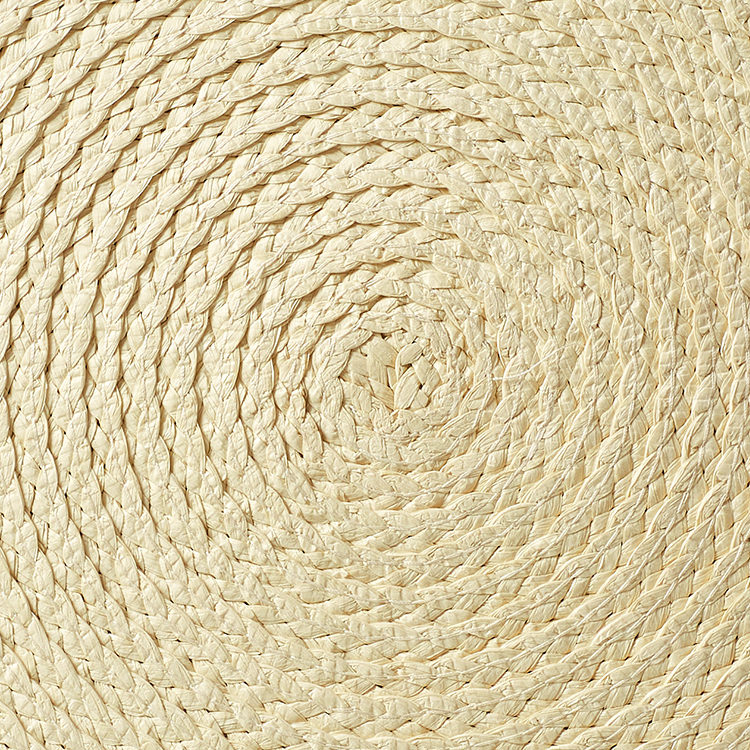 Salisbury & Co Woven Round Placemat 35cm Natural
