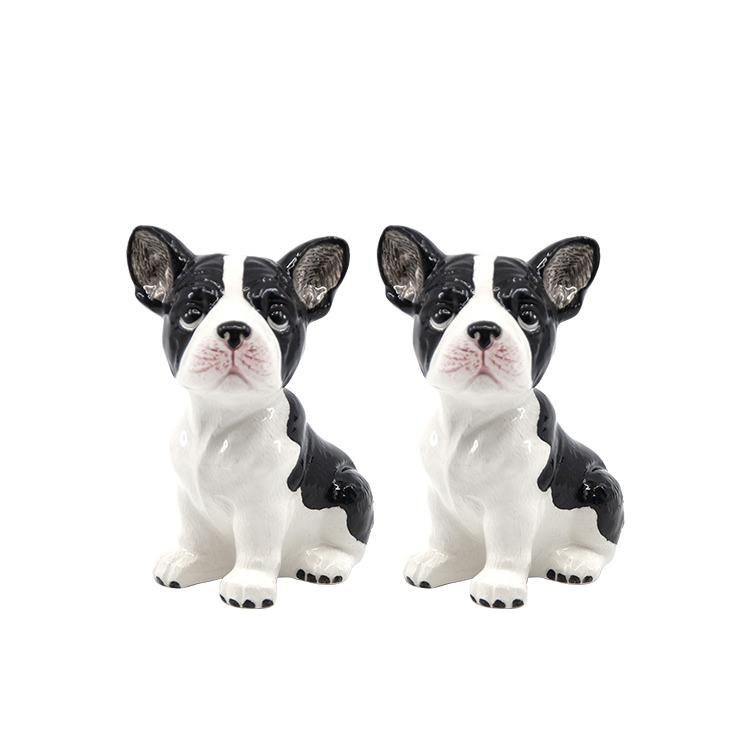 Salt & Pepper Animalia Shaker Set of 2 French Bulldogs