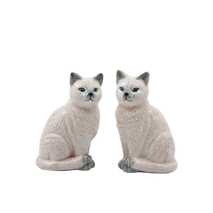 Salt & Pepper Animalia Shaker Set of 2 Ragdoll Cats