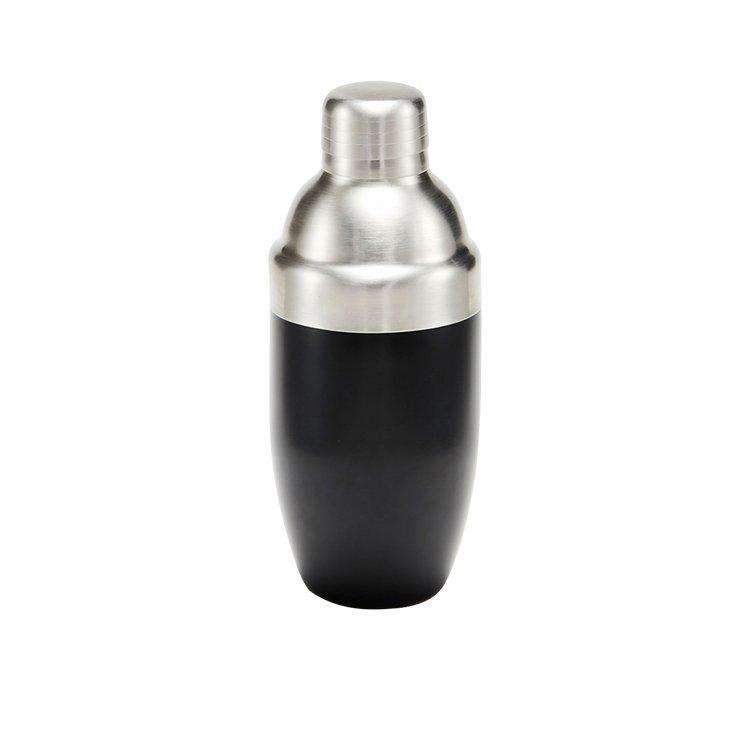 Salt & Pepper Bond Cocktail Shaker Black