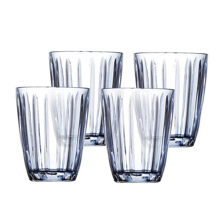 Salt & Pepper Celine Tumbler 220ml Set of 4 Blue