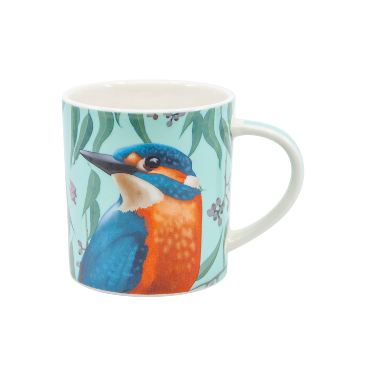 Salt & Pepper Christopher Vine Australiana Mug 350ml Kingfisher