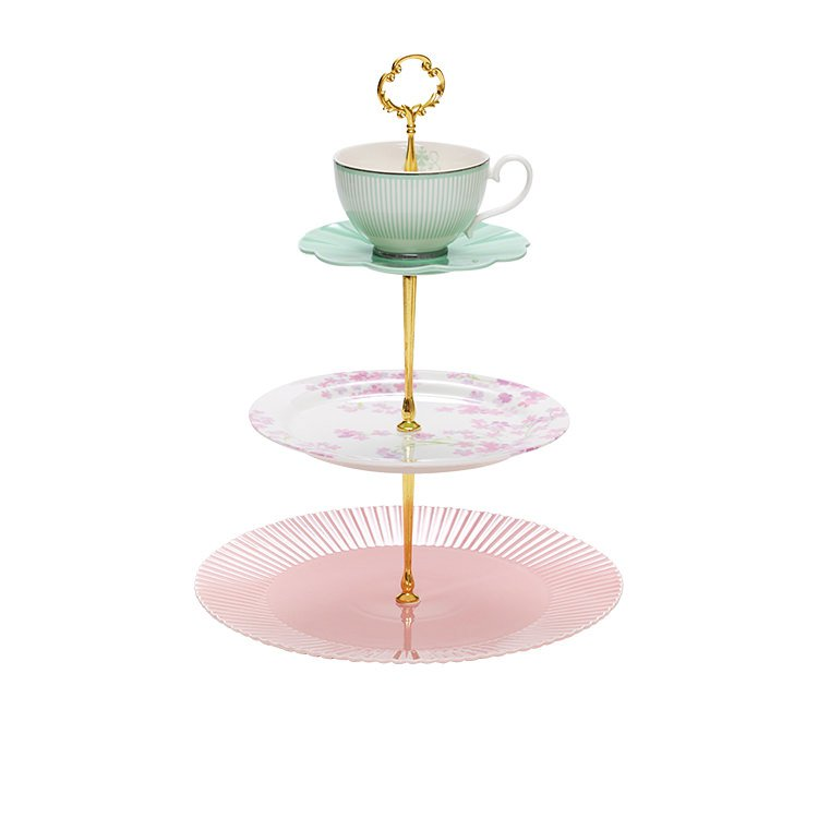Charmant Salt U0026 Pepper Eclectic 3 Tier Cake Stand $44.95
