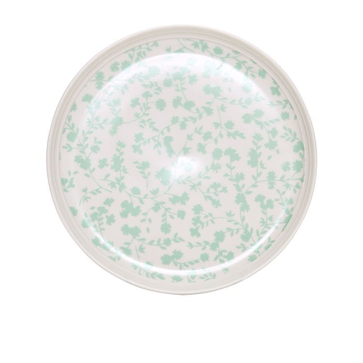 Salt & Pepper Eclectic Couple Plate 19cm Green