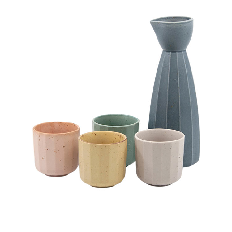 Salt & Pepper Ikana Sake Set 5pc