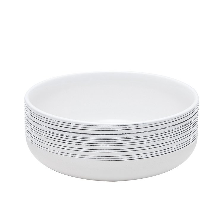Salt & Pepper Raww Bowl 16cm White