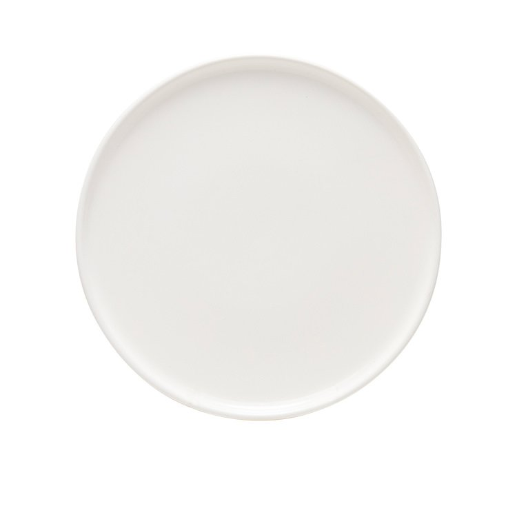 Salt & Pepper Raww Plate 20cm White