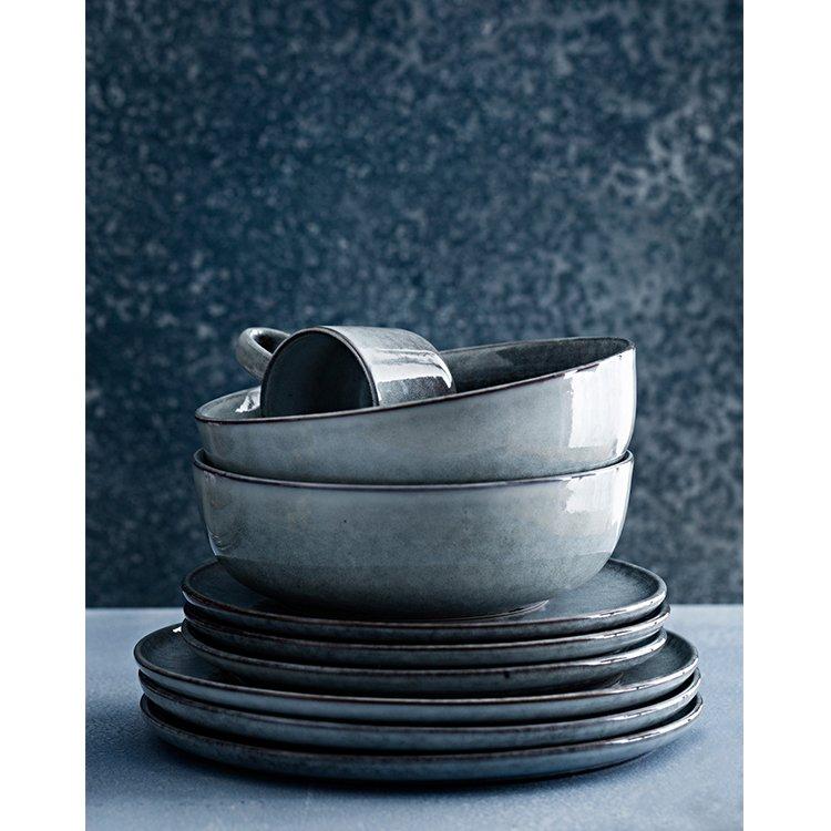 Salt & Pepper Relic Bowl 18x6cm