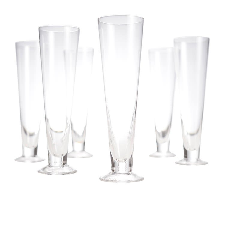 Salt & Pepper Salut 6pc Pilsner Glass Set 390ml