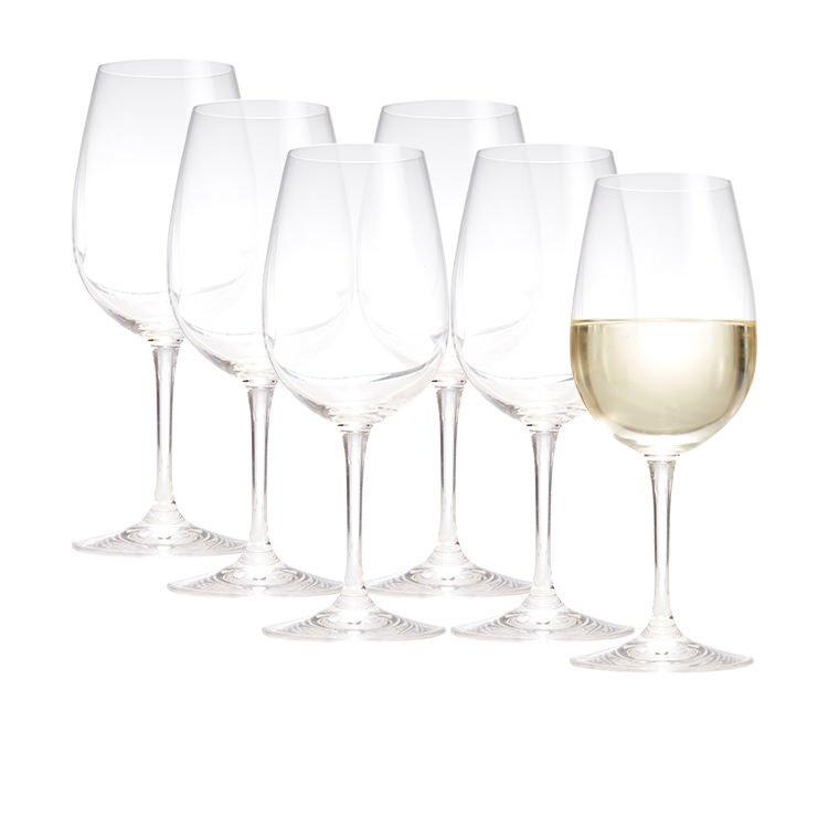 Salt & Pepper Salut 6pc White Wine Glass Set 410ml image #3