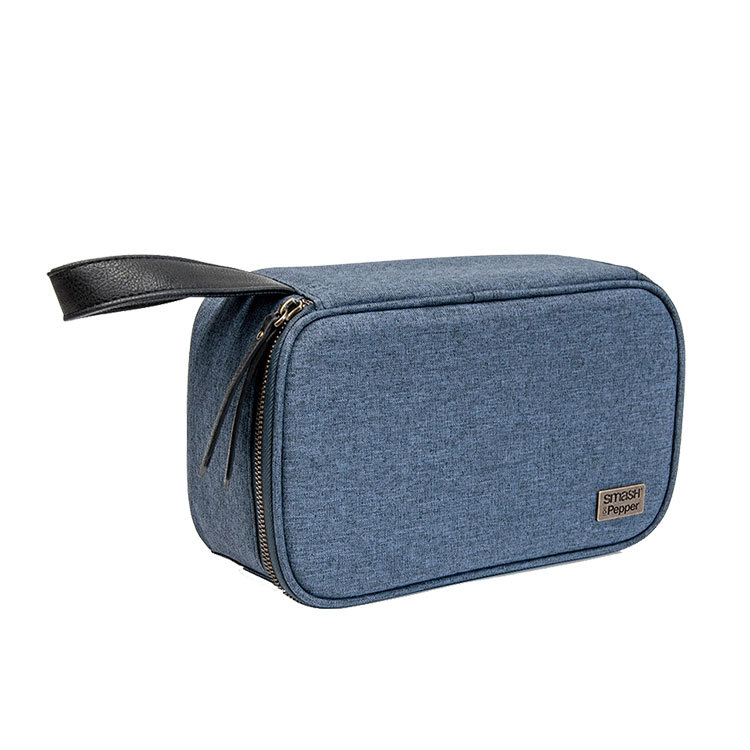 Salt & Pepper Smash Insulated Lunch Box Denim