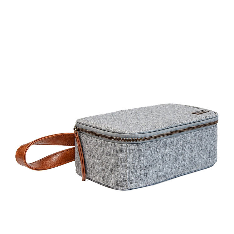 Salt & Pepper Smash Insulated Lunch Box Grey